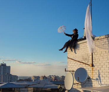 Чаепитие на крыше
